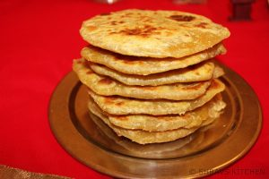 coconut poli / wheat flour obbattu