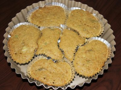 eggless avocado muffins
