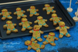 eggless gingerbread men cookies