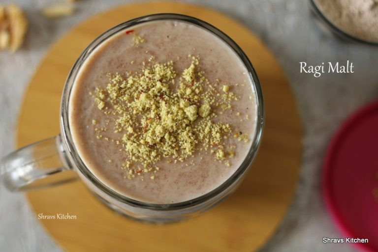 ragi malt / ragi sweet porridge