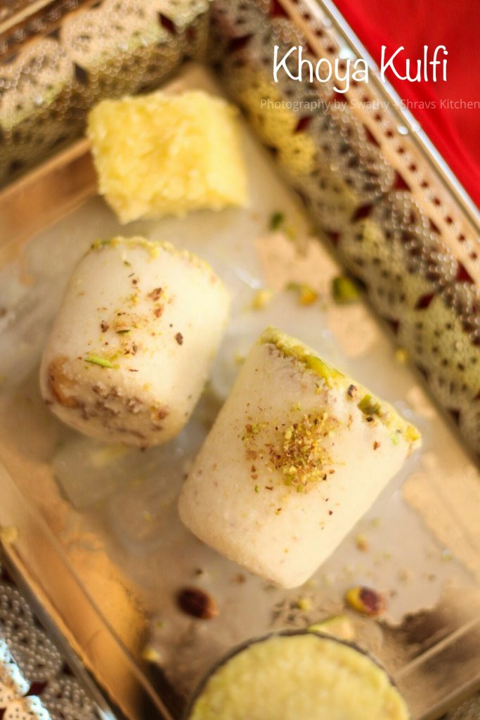 Homemade kulfi recipe / khoya kulfi
