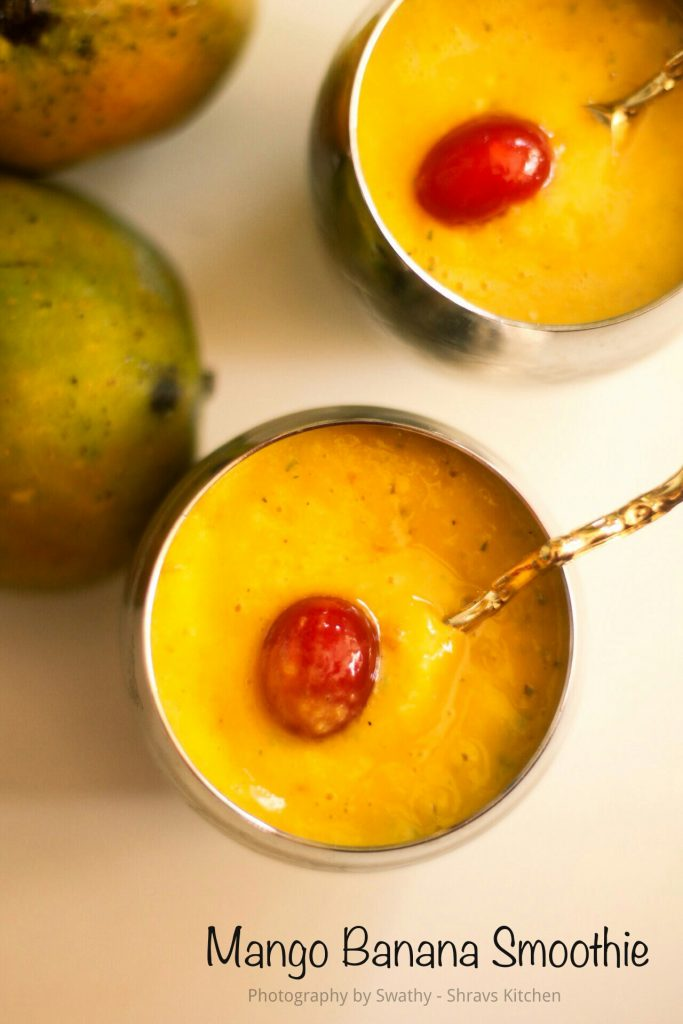 Mango Banana Smoothie