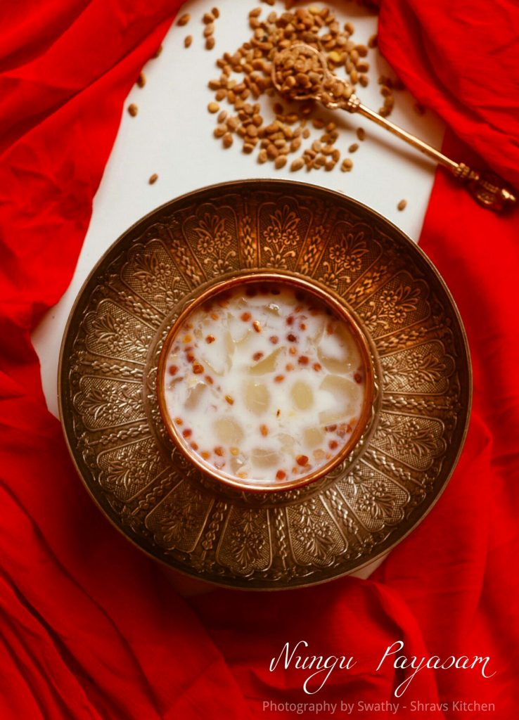 Nungu Payasam / ice apple kheer