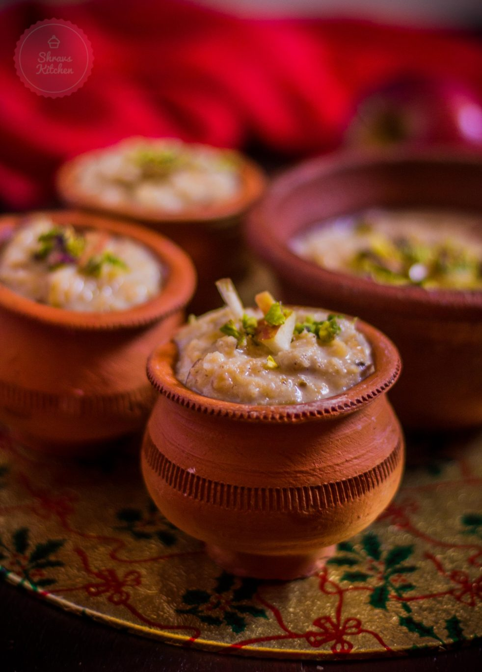 oats apple phirni / phirni recipe / apple dessert
