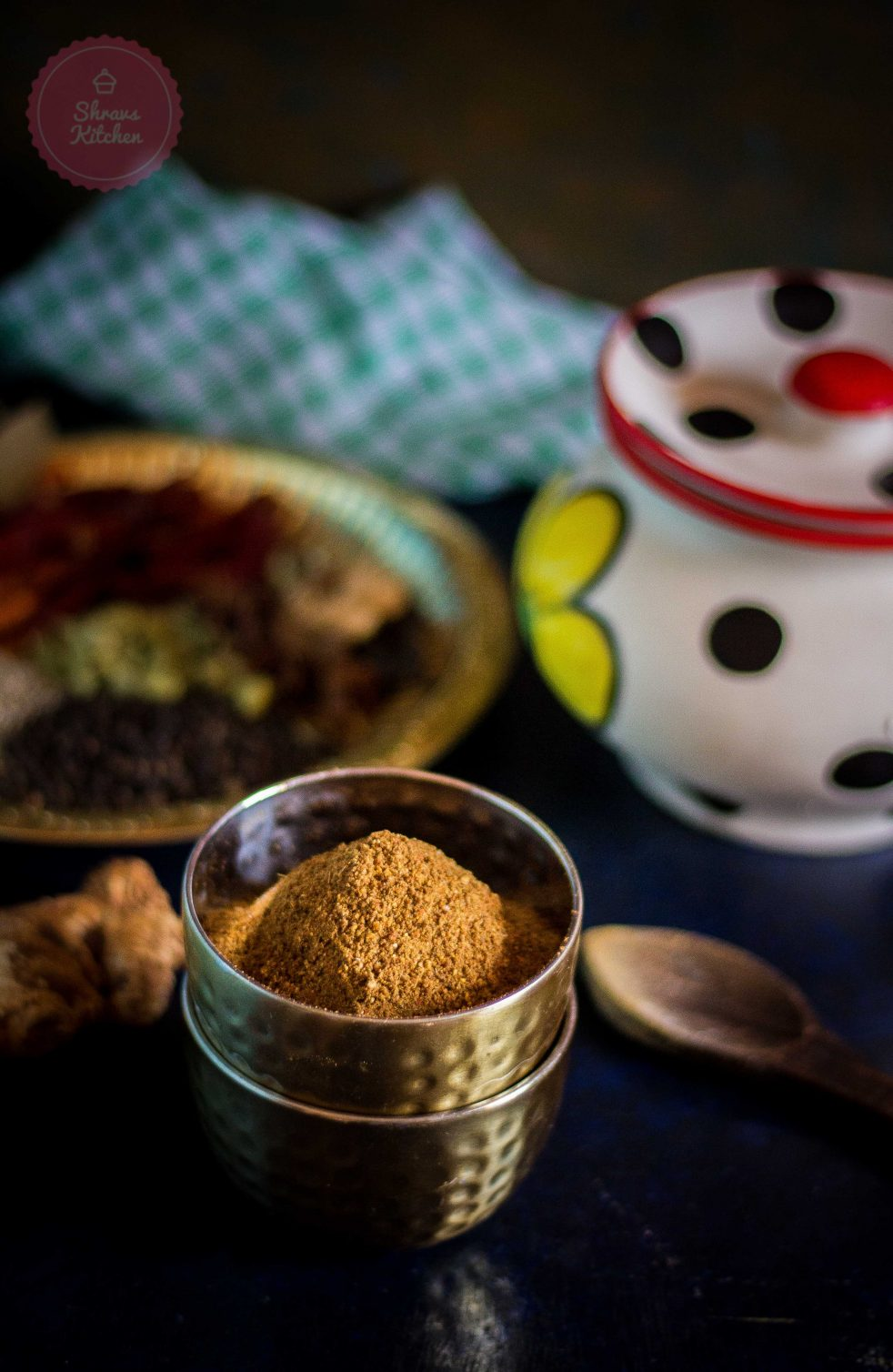tandoori masala / homemade masala / indian spices